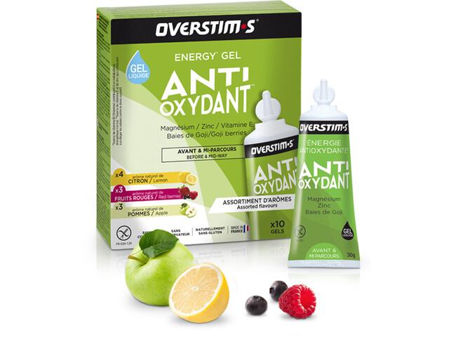 OVERSTIM.s Antioxydant Sachet de gels liquides 10x30g, Mixed Flavors
